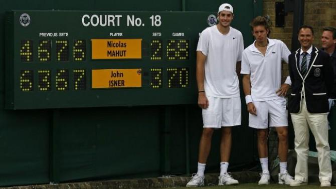 El partit de tennis més llarg de la història