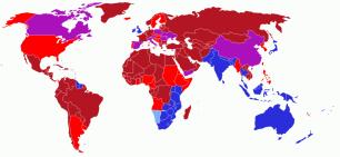 Per on es circula als diferents països del món?