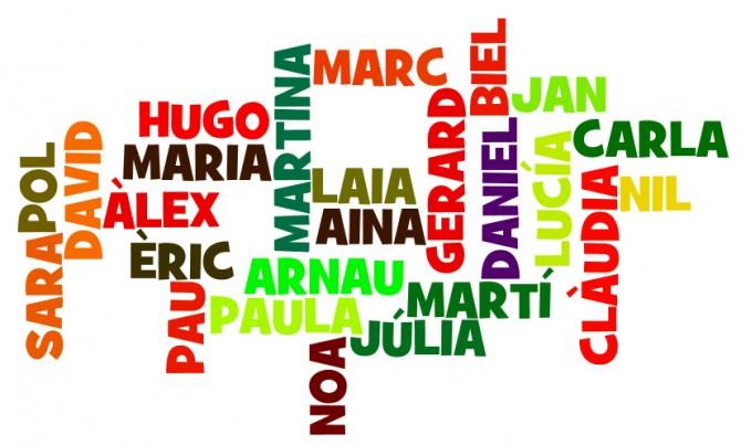 Els noms dels nadons més comuns a Catalunya
