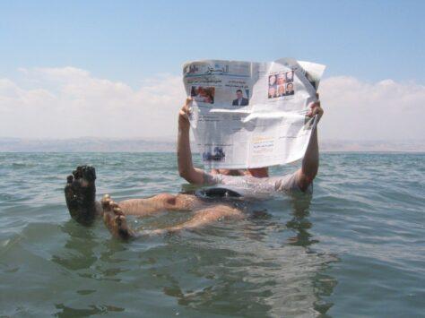 Per què és mort el mar Mort ?