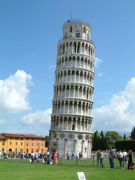 Per què la torre de Pisa està inclinada?