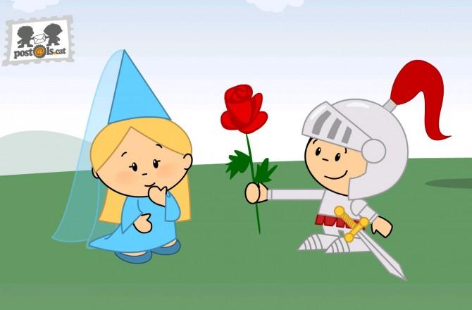 La Llegenda de Sant Jordi, el Llibre i la Rosa