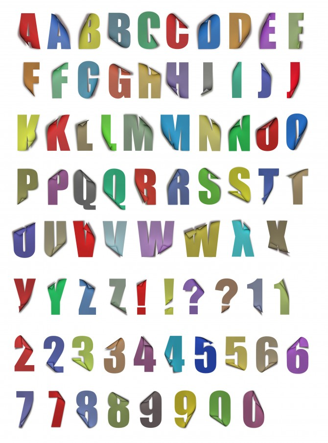 L'alfabet més llarg del món