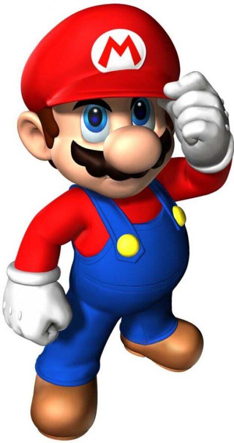 Per què en Super Mario porta bigoti?