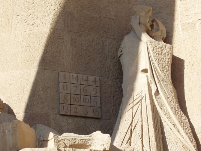 El quadrat màgic de la Sagrada Família