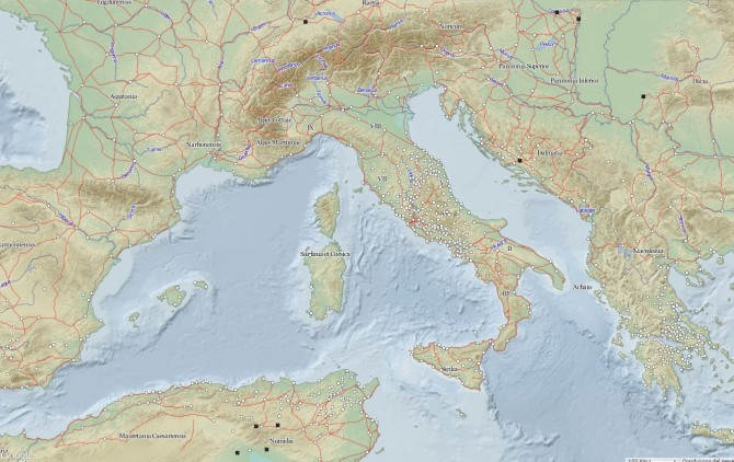 Mapa digital de l'Imperi Romà
