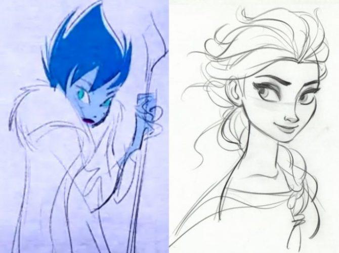 Elsa, en realitat, havia de ser dolenta!