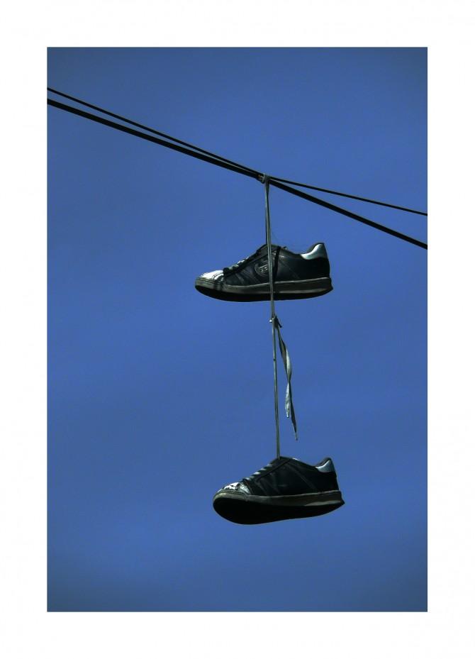 Shoefiti?