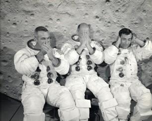 Els tripulants de l'Apol·lo 10 van trobar un estrany objecte flotant