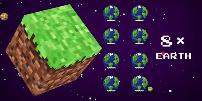 Com és de gran Minecraft?