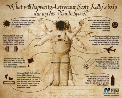 Què li passa a un astronauta durant tot un any a l'espai?