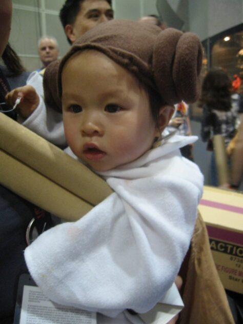 Origen del pentinat de la Princesa Leia