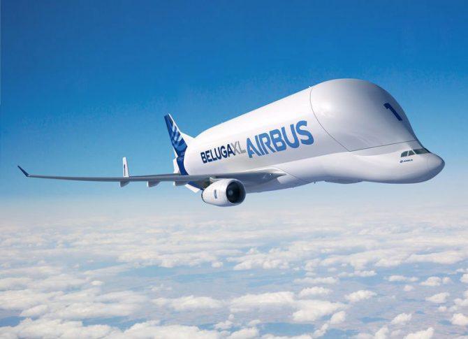 Beluga XL, un avió que transporta avions
