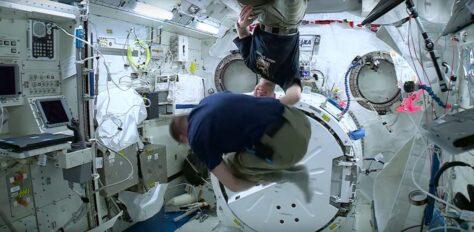 Per què els astronautes no es maregen a l'espai?