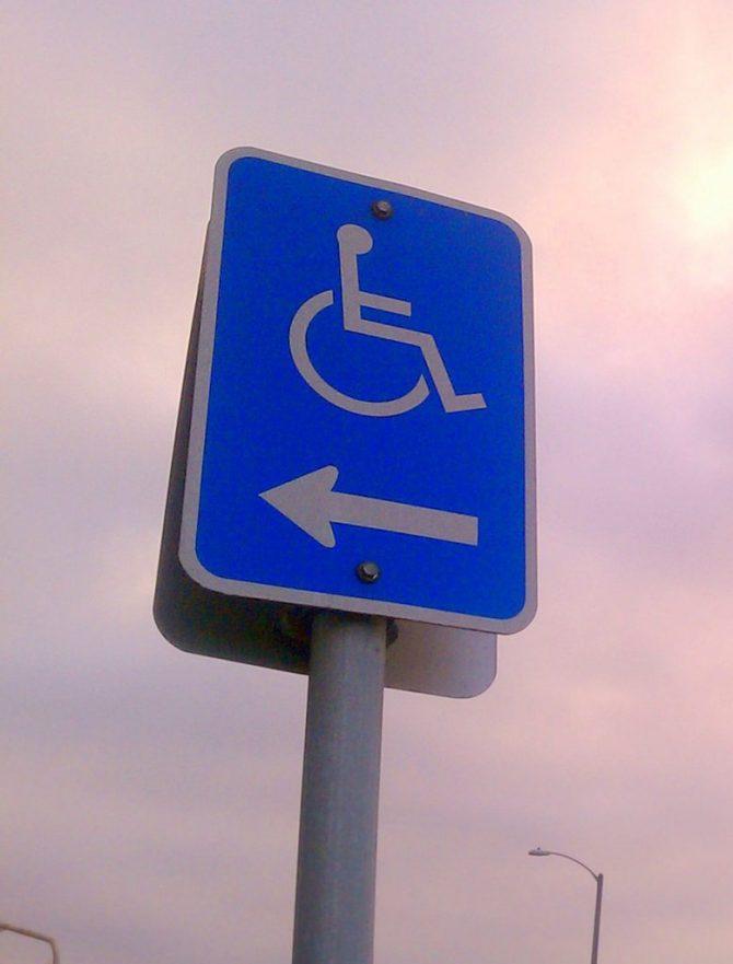Origen del símbol internacional d'accessibilitat