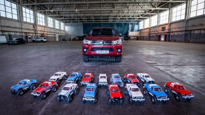 Quants cotxes de ràdio control es necessiten per arrossegar un cotxe real?