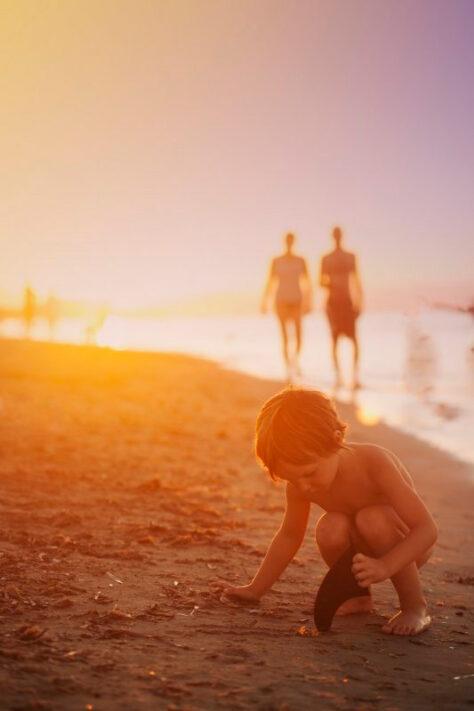 D'on ve la sorra de la platja?